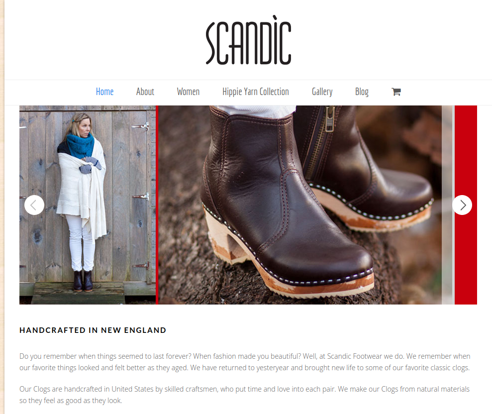 Featured Manufacturer: Scandic Footwear Made in New England