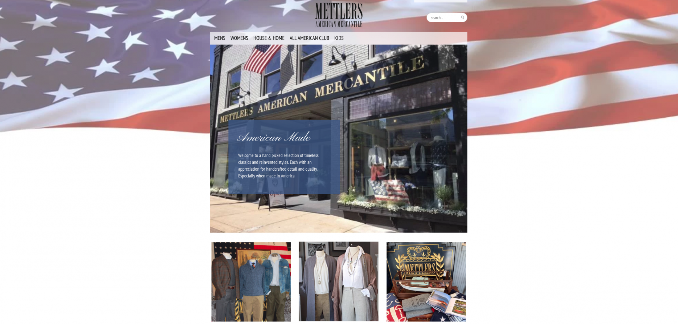 Featured Retailer: Mettlers American Mercantile